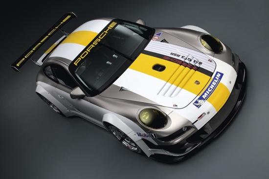 Porsche renueva el 911 RSR de cara a 2011
