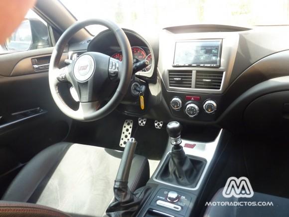 Prueba Subaru WRX STI 301 caballos (parte 1)