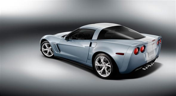 Chevrolet Corvette Carlisle Blue Concept