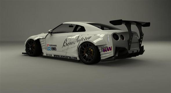 BenSopra Nissan GT-R