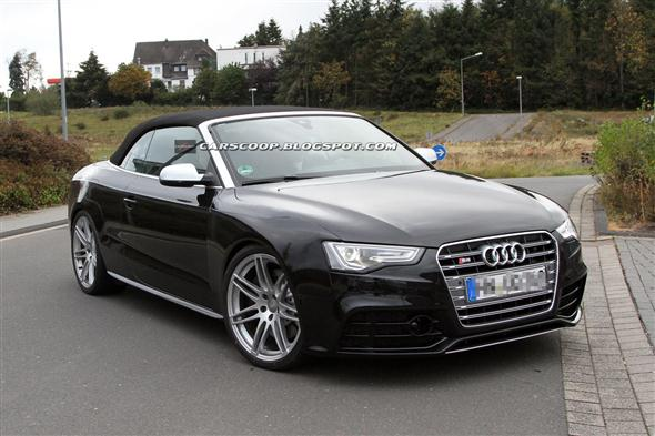 audi rs5 cabrio m s de cerca. Black Bedroom Furniture Sets. Home Design Ideas