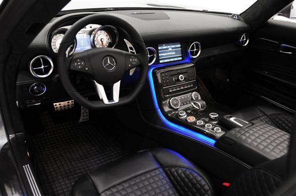 Mercedes SLS AMG Roadster Brabus