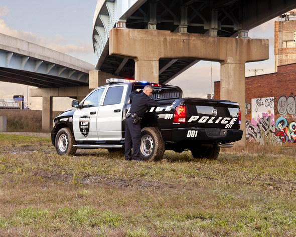 """Ram 1500 Crew Cab, ahora con """"uniforme"""" de policía"""