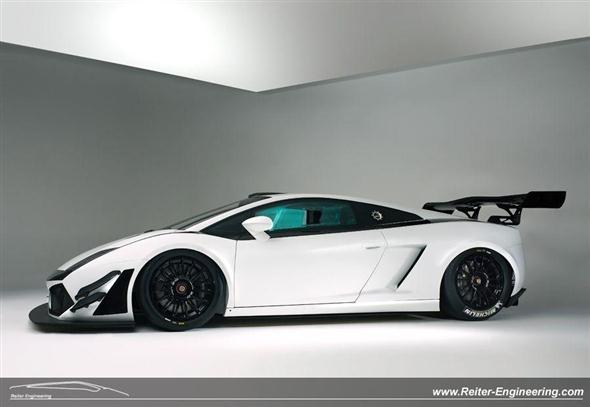 Reiter Engineering Lamborghini Gallardo LP600+ GT3