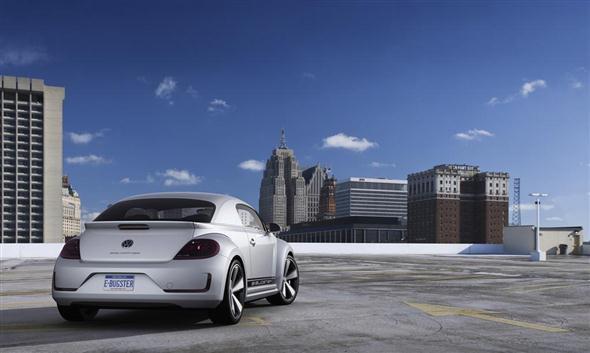 Volkswagen E-Bugster, para Detroit