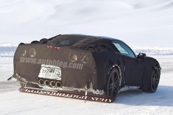 Primeras fotos espía del nuevo Corvette C7