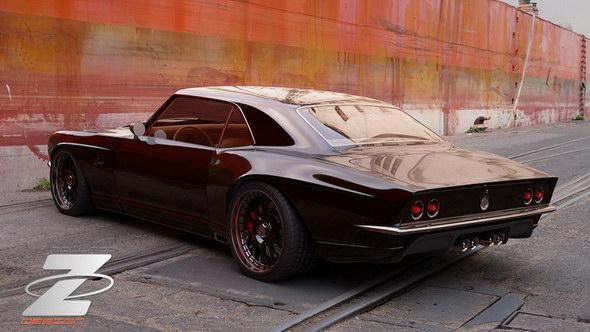 Nuevo proyecto Bo Zolland: 1968 Chevrolet Camaro