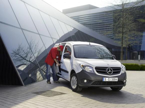 Mercedes Citan, un Mercedes a la francesa