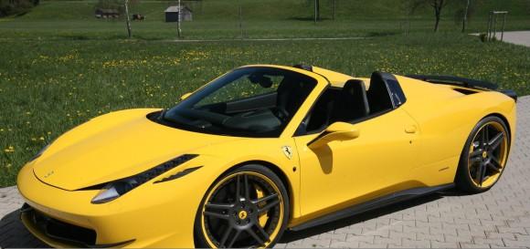 Novitec nos presenta su peculiar Ferrari 458 Italia Spider
