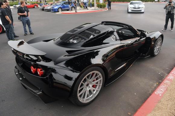 Venom GT Spyder muestra la cara por sorpresa