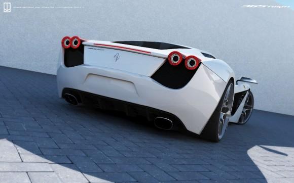 Ferrari 365 Turin, un diseño de lo más atrevido