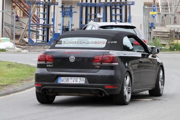 Fotos espía: Volkswagen Golf R Cabrio