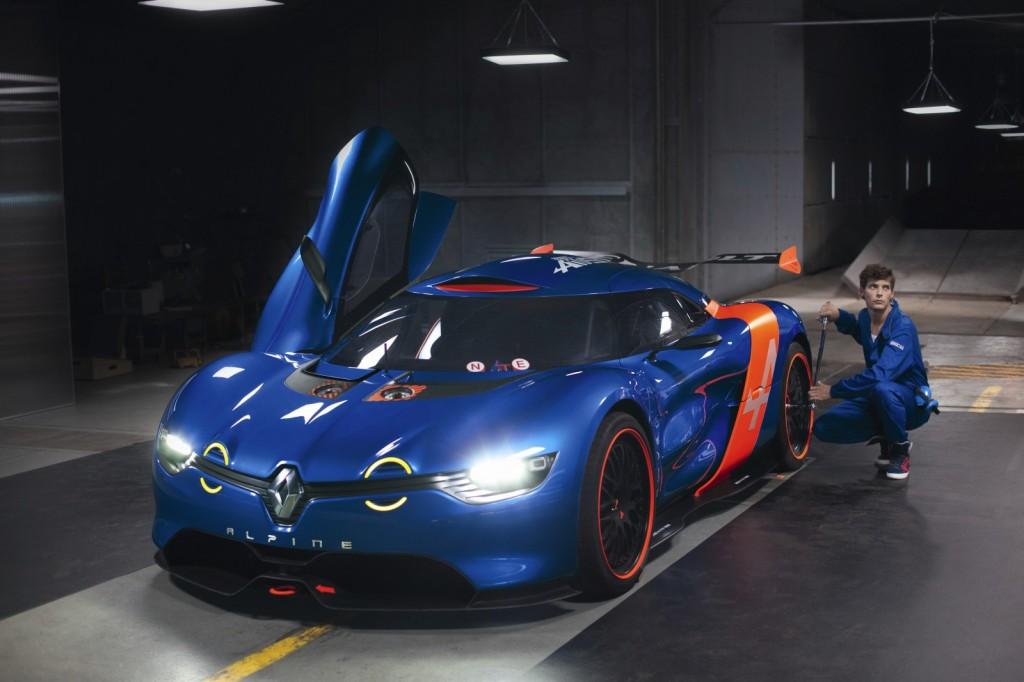 El Renault Alpine llegará en 2016
