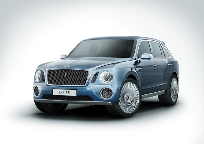 Bentley EXP 9 F ¿un éxito inesperado?
