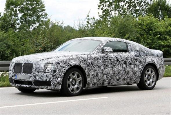 Rolls-Royce Ghost Coupé 2014