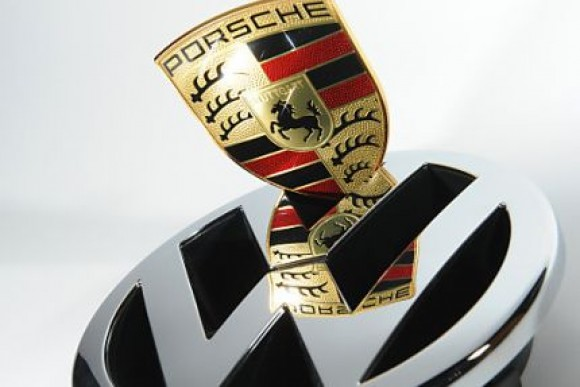 Porsche und Volkswagen Logo