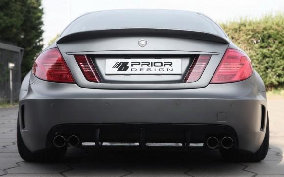 Prior Design nos muestra un Mercedes CL más que interesante