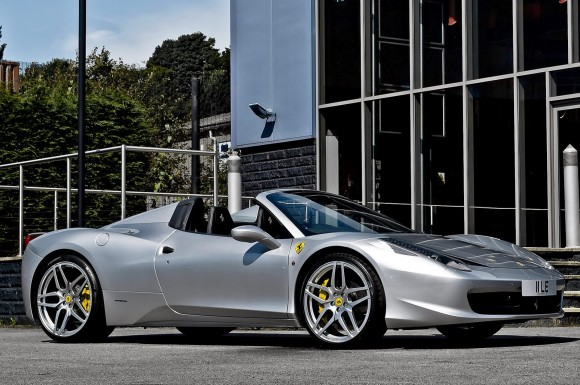 Ferrari 458 Italia Spider Tinkered