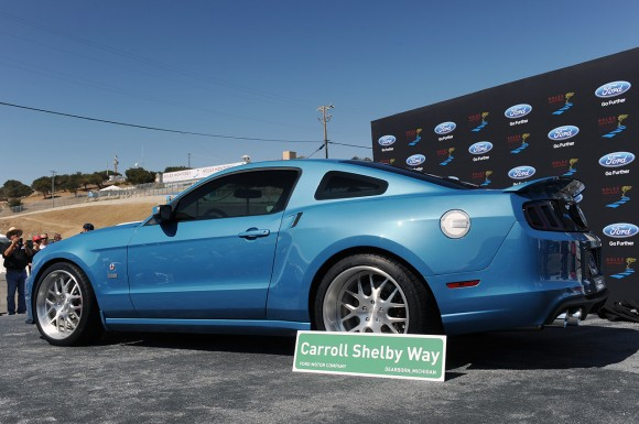 Ford Shelby GT500 Cobra, creado como homenaje a Carroll Shelby