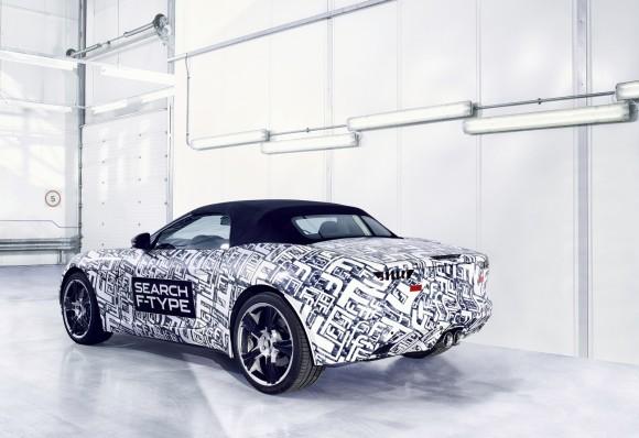 El Jaguar F-Type será presentado en París