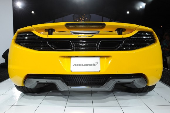 Pebble Beach 2012: McLaren MP4-12C Spider