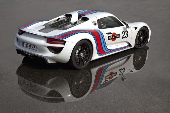 Porsche 918 Spyder, presentado en un evento privado