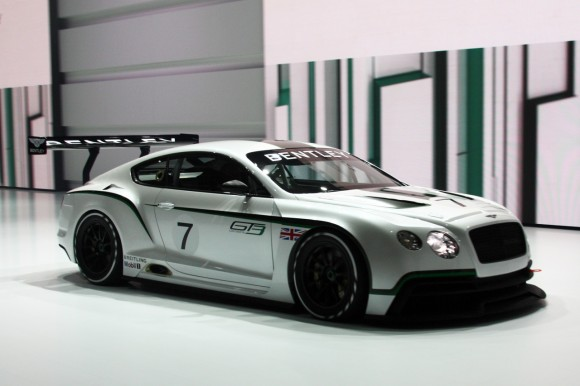 París 2012: Bentley Continental GT3 Concept