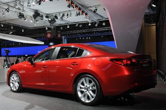 París 2012: Mazda6
