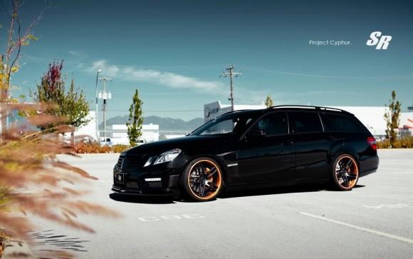 Mercedes E63 AMG Project Cyphur