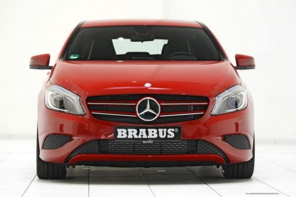Brabus fija su punto de mira en el pequeño Mercedes Clase A