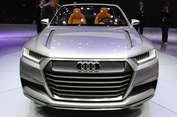 París 2012: Audi Crosslane Coupe Concept