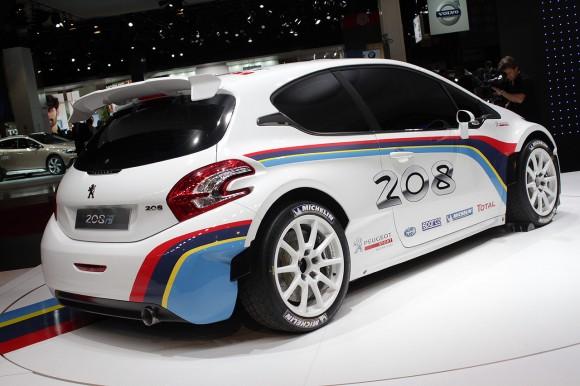 París 2012: Peugeot 208 R5
