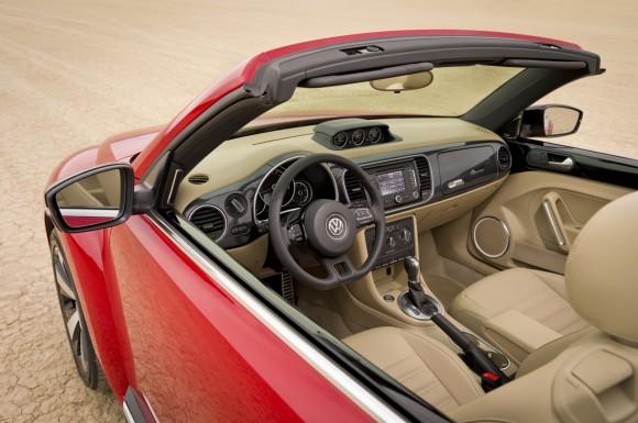 Volkswagen Beetle Cabrio, imágenes oficiales y datos