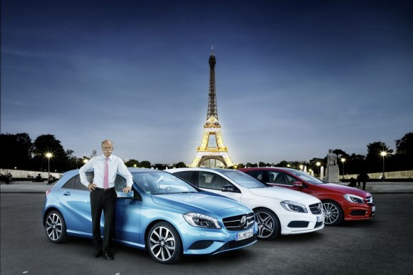 Mercedes Clase A, el nuevo éxito alemán