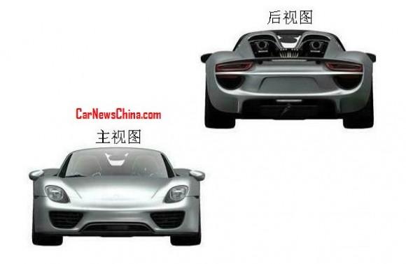 Primeras imágenes del Porsche 918 Spyder de producción