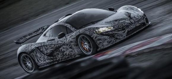 McLaren P1, nuevos datos y fotos oficiales