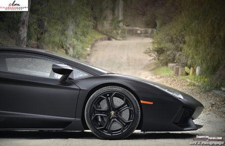 Lamborghini Aventador LP700-4 negro mate a la venta