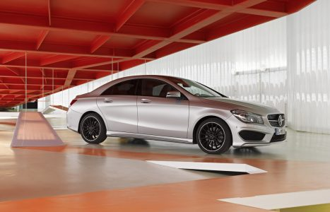 Mercedes-Benz CLA 250 Edition 1, (C117), 2012