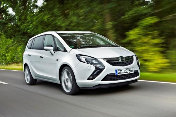 Opel Zafira Tourer 1.6 CDTI, rumbo a Ginebra