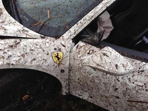 Underground Racing Ferrari 458 Italia destruido
