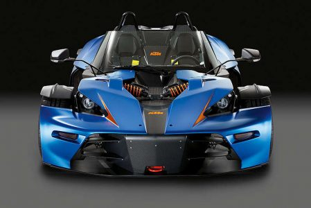 KTM X-Bow GT, especificaciones oficiales