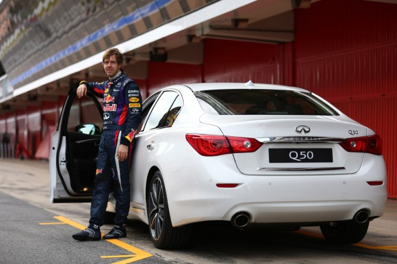 Infiniti Red Bull Racing Filming Day