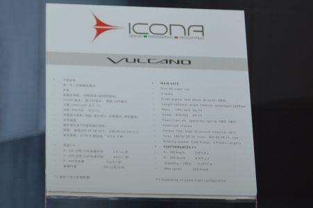 Shanghai 2013: Icona Vulcano