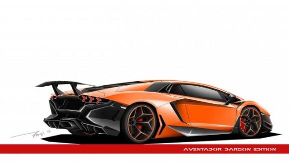 Lamborghini Aventador LP700-4 Dragon Edition