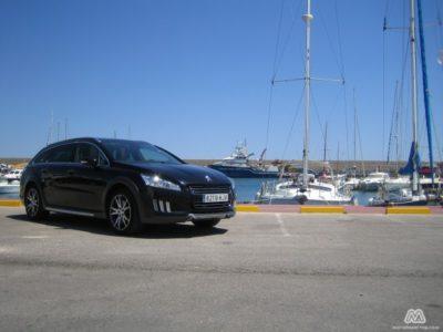 Prueba: Peugeot 508 RXH HYbrid4 (parte 2)