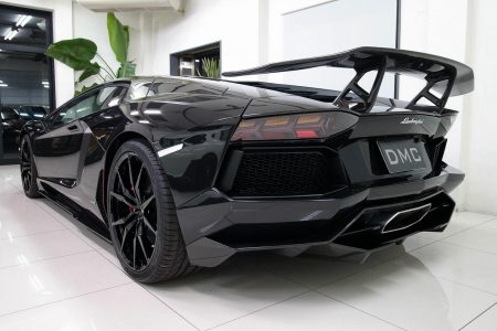 AutoProject-D y DMC se unen para crear un Lamborghini Aventador único