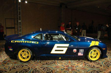 El Chevrolet Camaro GS Racecar Concept será subastado en Monterrey