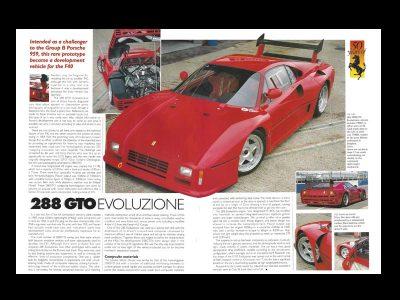 Ferrari 288 GTO Evoluzione, a la venta