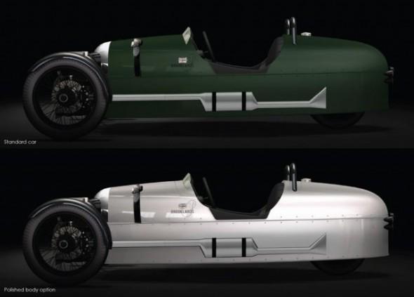 Morgan Roadster y Morgan 3 Wheeler Brooklands Edition