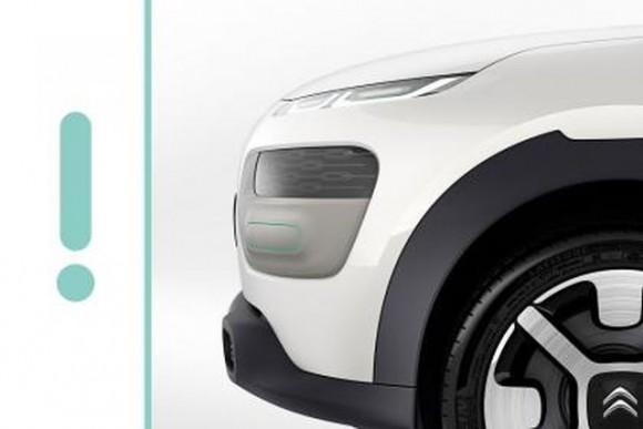 Citroën Cactus, teaser antes de su debut en Fráncfort